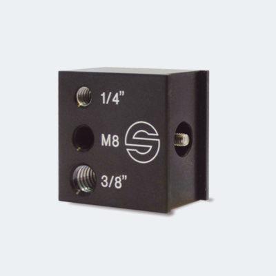 "Adapter accessory, 1/4"", 3/8"", M8"
