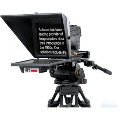 """Master Series 20"""" SDI Prompter with Large Wide Angle Hood, Pro Plate and Short Rods"""