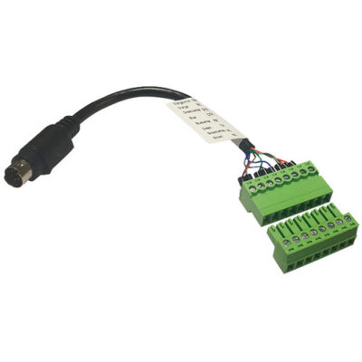 8 Pin Mini Din TO Phoenix Control Cable Adapter