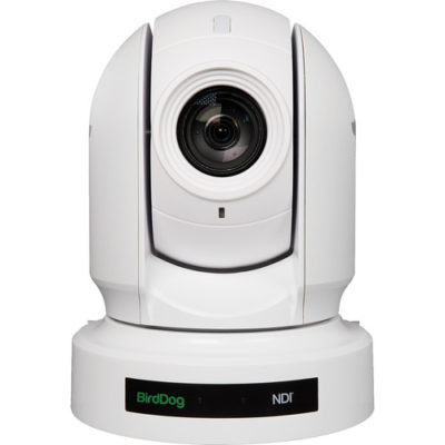 P400 White. 4K 10-Bit Full NDI with Sony Sensor