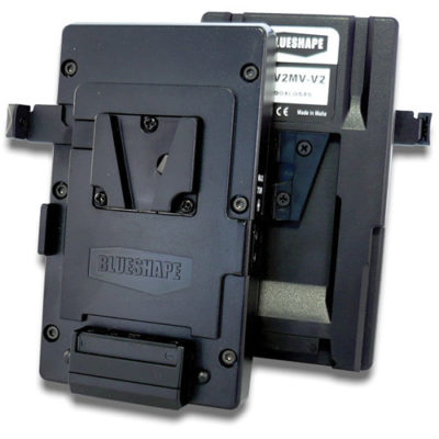 V-Mount to V-Mount Adapter Plate with P-Tap Output