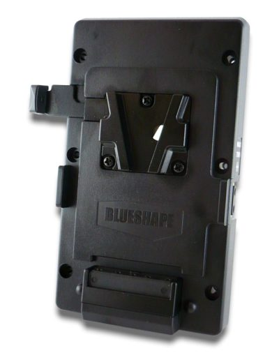 V-Mount adapter plate with 2 pin D-tap DC output