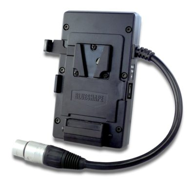 Belt Mount adapter with dual voltage power output and 2 pin D-tap